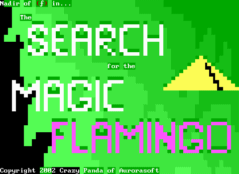 The Search for the Magic Flamingo